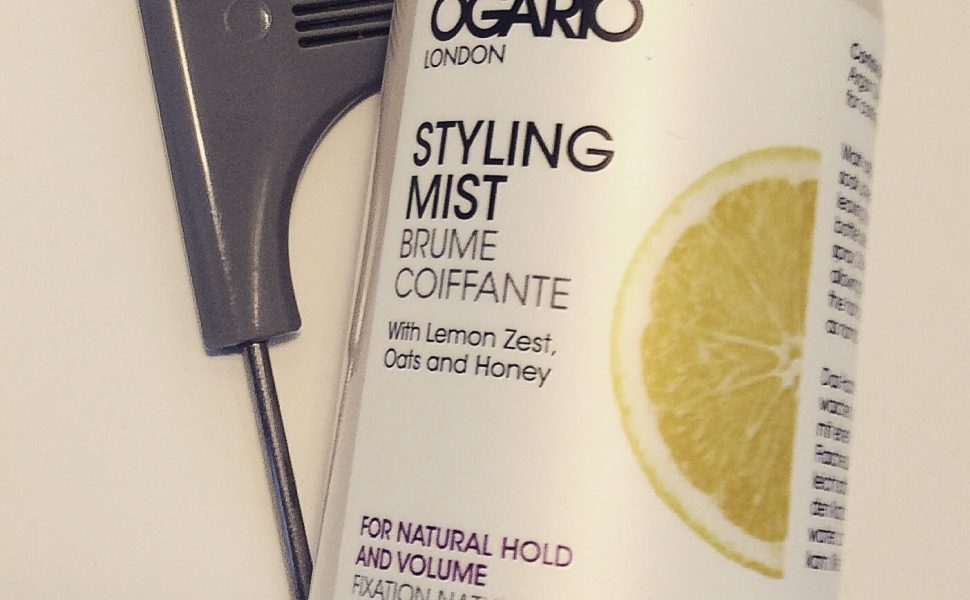 Ogario London Styling Mist for Natural Hold and Volume