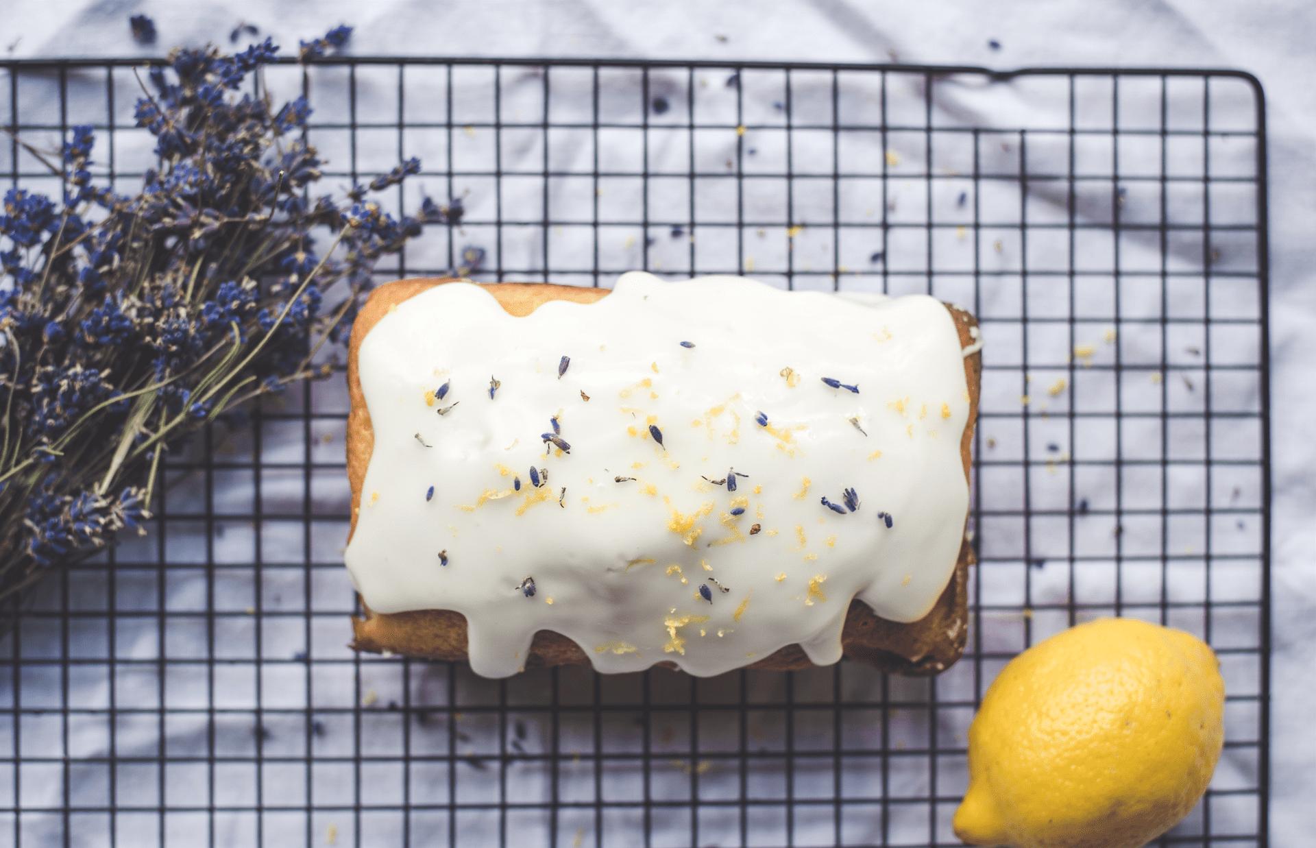 Lemon cake inspired by Restore and Shine Hair Repair Mask