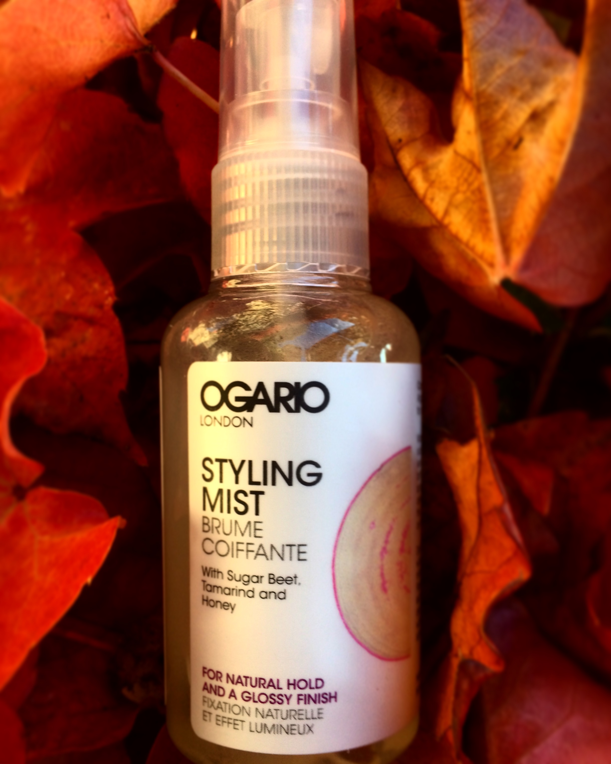 Styling Mist for frizzy hair