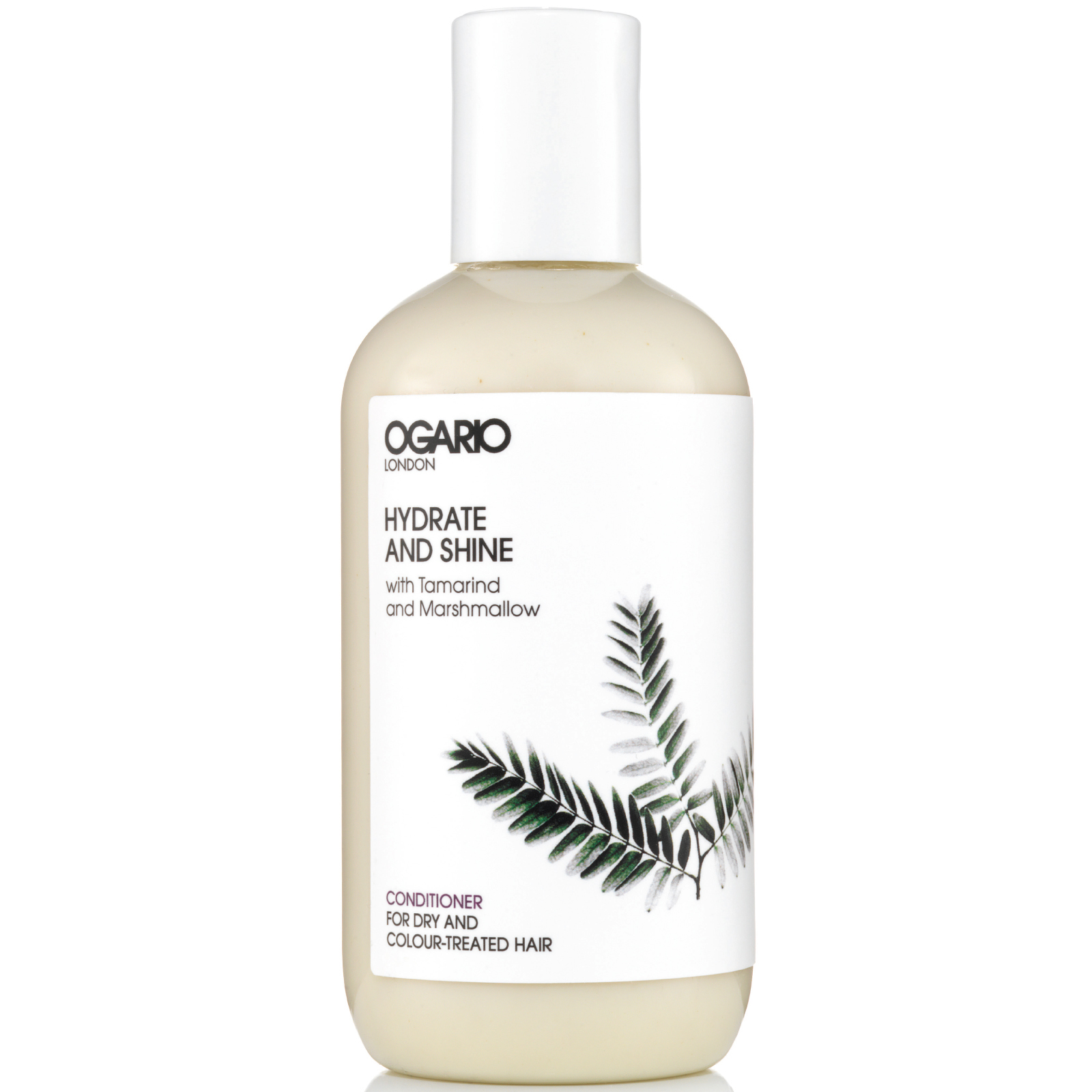 OGARIO Hydrate and Shine Natural Conditioner; Prep Dry Hair for Styling