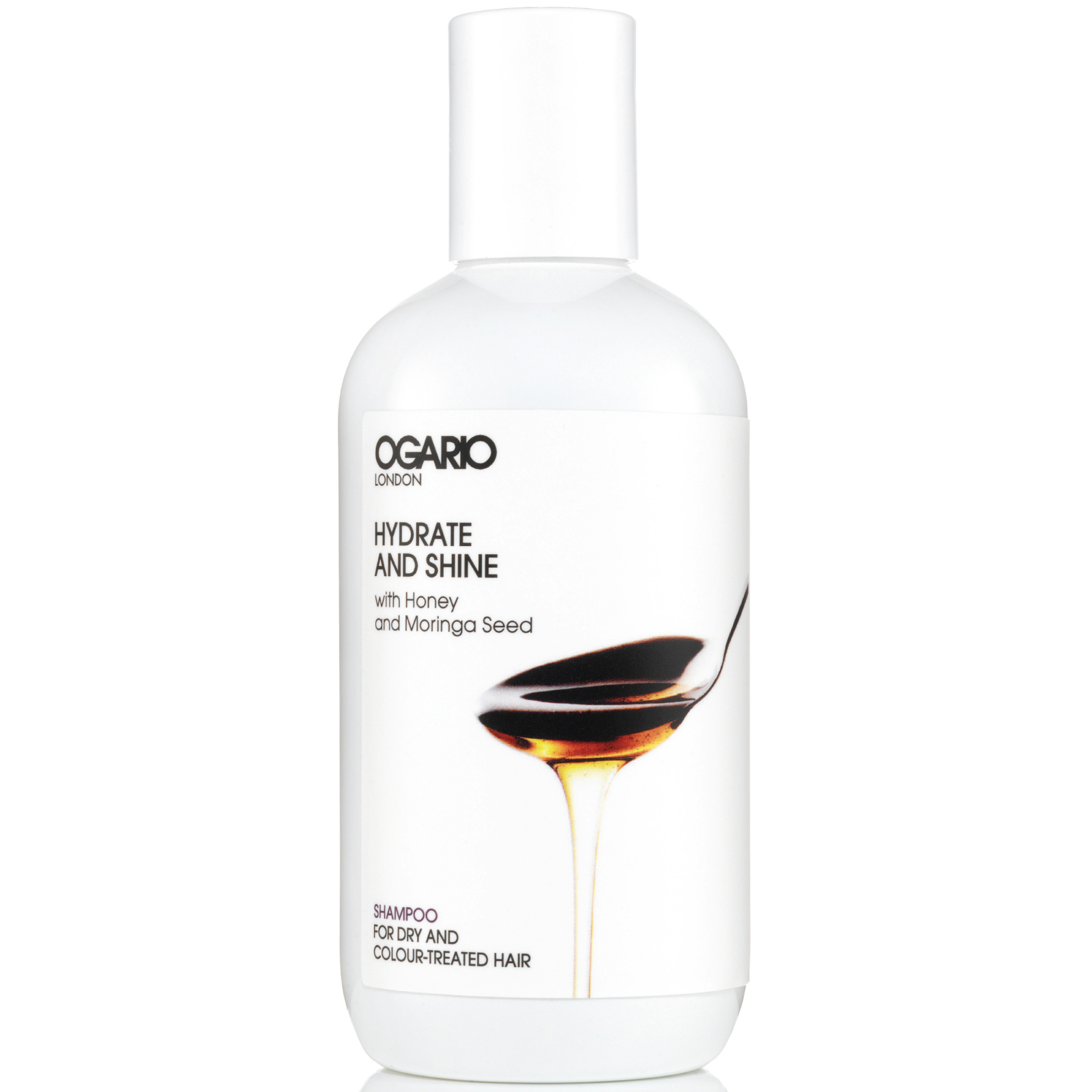 Hydrate and Shine Shampoo; Prep Dry Hair for Styling