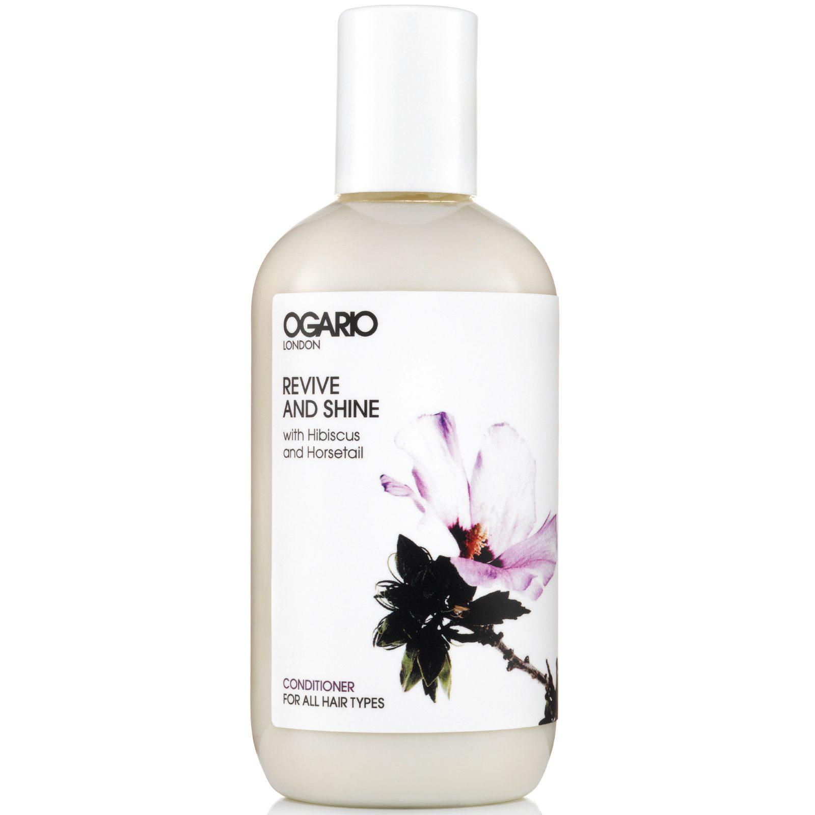 OGARIO Revive and Shine Conditioner for all hair types; prep fine hair for styling, detangler