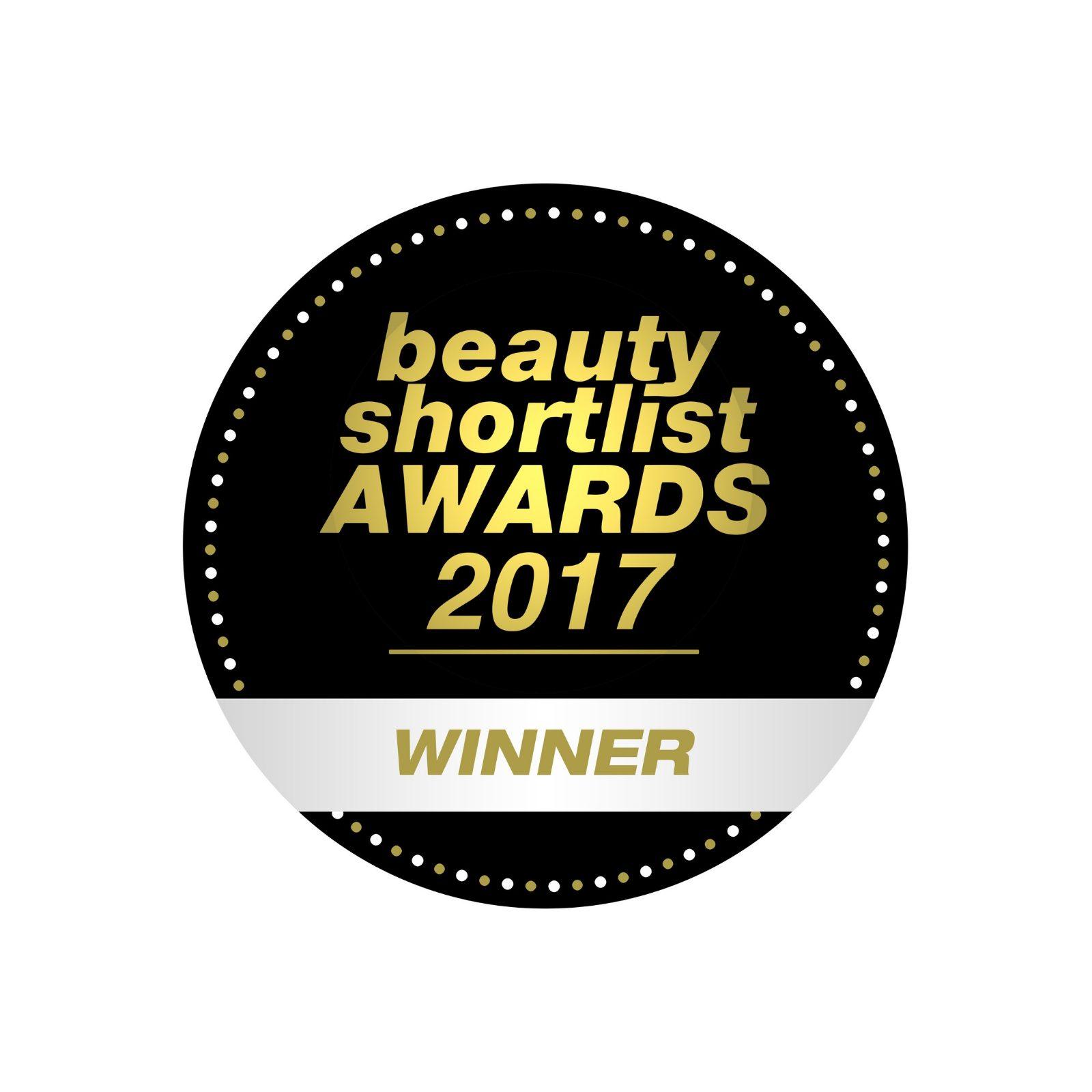 beauty shortlist winner logo