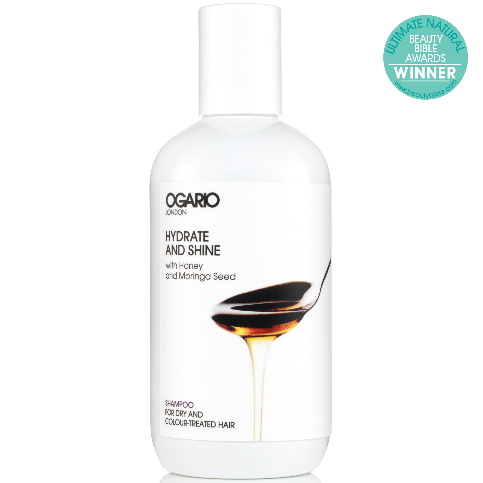 OGARIO Hydrate and Shine Shampoo; Best for adding moisture to curly hair