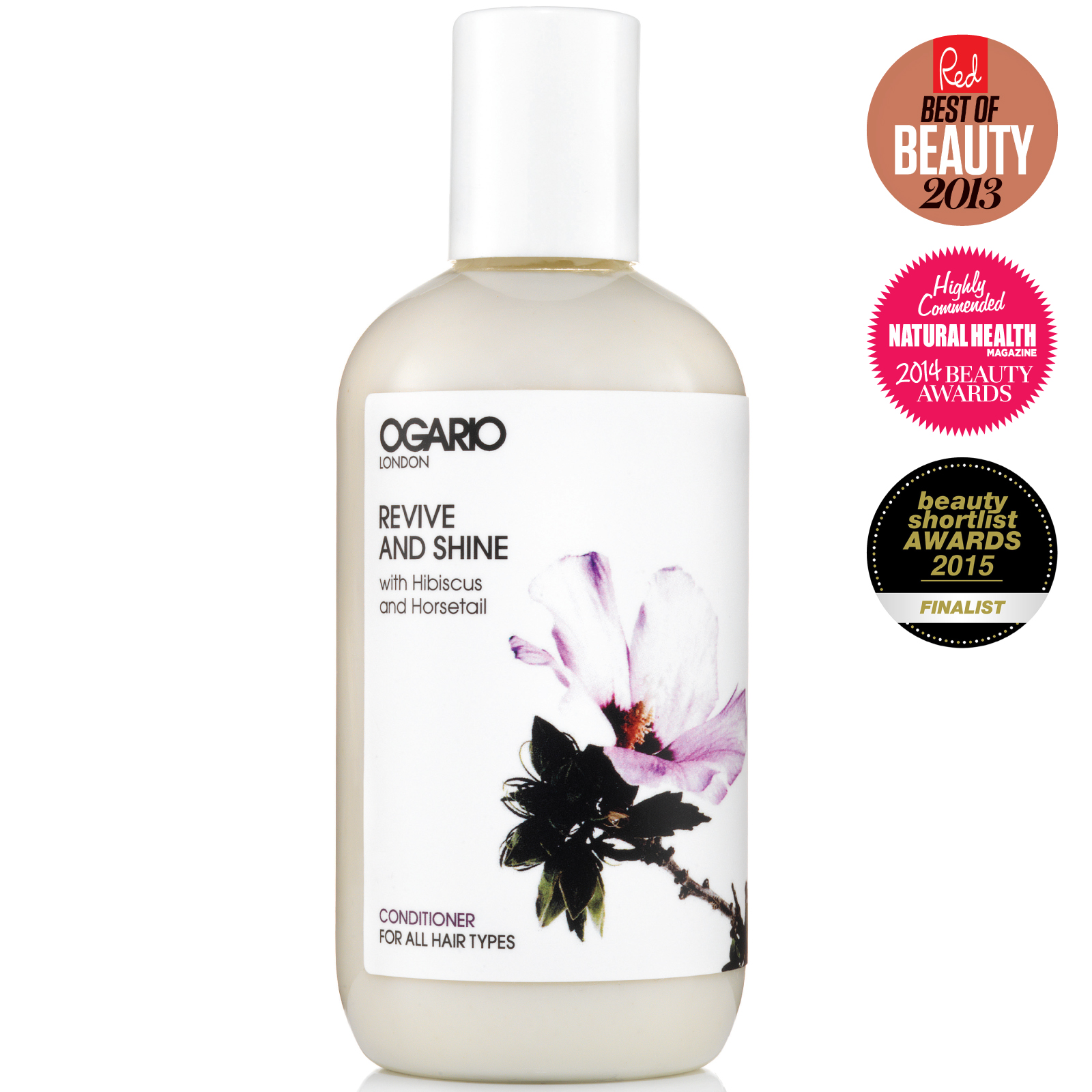 OGARIO Revive and Shine Conditioner; Detangles and Shines