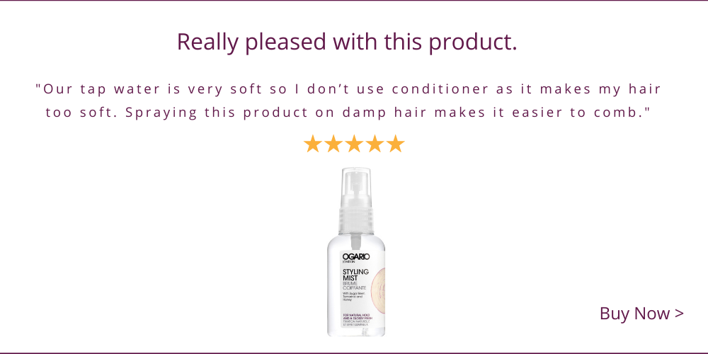 Leave in Conditioner Review; Dry Hair