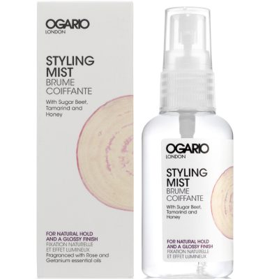 Styling Mist for Glossy Finish; with Argan Oil. Best for adding shine and moisture to hair.