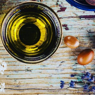 Argan Oil contains fatty acids