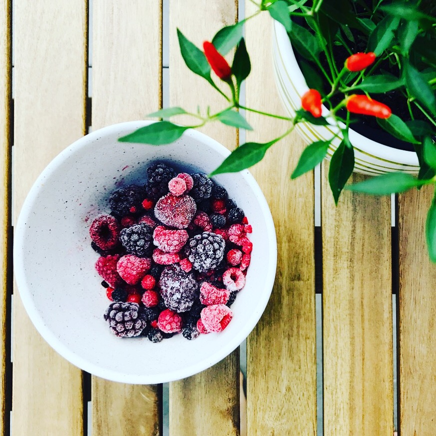 Natural hair growth tips: Berries contain vitamin C to help your body absorb iron
