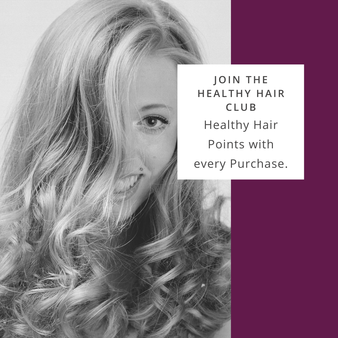 Healthy Hair Club with bouncy blow dry