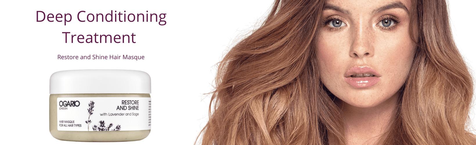 Healthy Shiny, Frizz-Free Hair