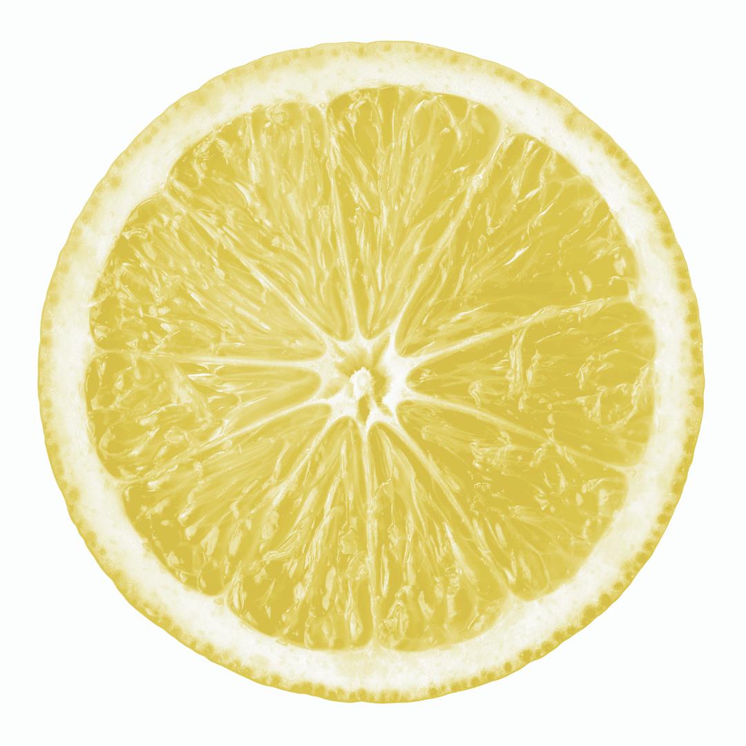 Lemons Zest for Hair Shine